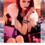 Selena Gomez For Coach's Holiday 2017/2018 Ad Campaign