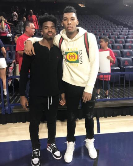 College Basketball: Allonzo Trier Sports A Gucci Cotton