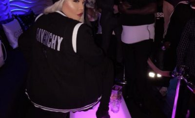 d842e500 Iconic Female Rapper Lil Kim Draped In Givenchy