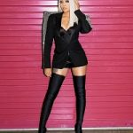 Tour Dairy: Monica Brown Styles In Givenchy, Fendi, Saint Laurent, Balenciaga, Christian Louboutin & Dsquared2