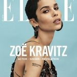 January 2018 Issue: Zoë​ Kravitz Covers Elle USA; Styles In Saint Laurent, Tom Ford & Gucci