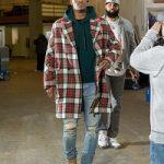NBA Fashion: Jimmy Butler Styles In A $2,960 Stella McCartney Wool Tartan Double Breasted Coat