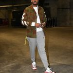 NBA Fashion: Carmelo Anthony Drippin In Off-White