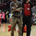 Celebs Style: Travis Scott & LeBron James Spotted In Rick Owens DRKSHDW Multi-Pocket Drop Crotch Trousers