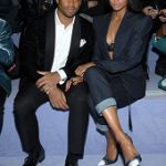 New York Fashion Week Men's: Ciara & Russell Wilson Attend Tom Ford Fall/Winter 2018 Menswear