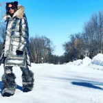 Ciara Drippin In Moncler