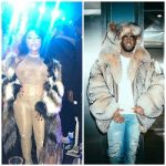 Lil Kim & Puff Daddy Kept Warm In Fur Coats From Daniel's Leather