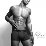 Fashion Model: Tynan Leachman's Photoshoot In A Pair Of Richard Dayhoff Premium Performance Trunks