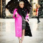 Monica Brown Wears Chanel's Clear Plastic Rain Boots