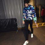 NBA Style: Brandon Ingram Wears A Kenzo Reversible Windbreaker With Hood And Kenzo Tiger Bomber Jacket