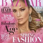 Jennifer Lopez Covers Harper's Bazaar USA April 2018