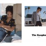 Luka Sabbat Fronts The Kooples Men's Spring/Summer 2018 Campaign