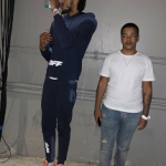 NBA Style: Brandon Ingram Wears An Off-White c/o Virgil Abloh Men's Logo Cotton Fleece Hoodie And Matching Logo Cotton Fleece Jogger Pants