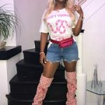 Remy Ma Draped In Gucci