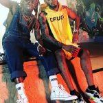 Passion For Fashion: Swizz Beatz Wears A Raf Simons Yellow Drugs Panel Hoodie & Maison Margiela Fusion Sneakers