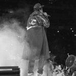 "Jay Z Dressed In Virgil Abloh's OFF-WHITE x Nike World Cup Capsule & Virgil Abloh's OFF-WHITE x Air Jordan 1 ""UNC"" Sneakers"