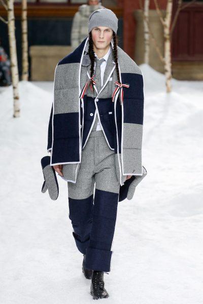 Thom Browne Fall 2018 Menswear. MILAN — It was just announced that Ermenegildo  Zegna Group ... 023e1af10dc