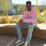NBA Fashion: Shai Gilgeous-Alexander Wears A Gucci Logo Sweatshirt With Dragon And Amiri Skinny Track Jeans