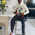 English Footballer Dujon Sterling Draped In Gucci