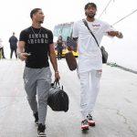 NBA Player Brandon Ingram Outfitted In Heron Preston + Nasa And Maison Margiela
