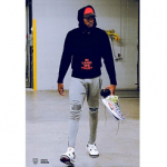 NBA Fashion: Karl-Anthony Towns Wears Helmut Lang And Amiri