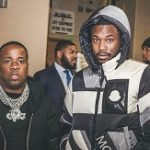 Meek Mill Wears A Craig Green 5 Moncler Plunger Hooded Down Filled Jacket