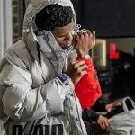 Fall Outerwear: A-Boogie Wit Da Hoodie Bundled-Up In An Ader Error x Puma Jacket
