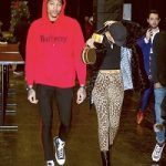 NBA Player Kelly Oubre Jr. Spotted In A Burberry Logo Hoodie