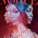 Naomi Campbell Covers The March 2018 Issue Of British Vogue