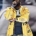 Meek Mill Performed In A Yellow Graffitied Jacket From Virgil Abloh's Off-White Fall 2019 Menswear Collection; But Was The Design Inspired By Or Stolen From An Indie Streetwear Label?