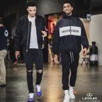 NBA Fashion: Shai Gilgeous-Alexander's Balenciaga Nylon Tracksuit Jacket