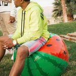Coachella Fashion: Justin Combs Outfitted In Palm Angels And Amiri