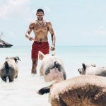 Swimming With The Pigs (Hello, Trump Administration): NBA Player Ben Simmons Vacaying In Nassau, Bahamas
