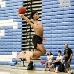 Shooting In The Gym: Joshua Christopher Spotted Ballin In Nike Air Fear Of God 1's Sneakers