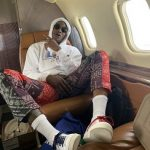 NBA Fashion: Terry Rozier And Shai Gilgeous-Alexander Wore A Pair Of Palm Angels Bandana Print Loose Fit Trousers