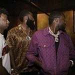 Celebs Style: Meek Mill And Shabazz Muhammad Spotted In A $1,990 Louis Vuitton Monogram Denim Jacket