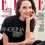 September 2019 Issue: Angelina Jolie Graces The Pages Of Elle