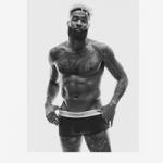 #MyCalvins: NFL Player Odell Beckham Jr. Flaunts His Athletic Physique In Calvin Klein Boxer Briefs