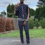 Dejounte Murray Draped In Gucci