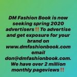 Boost Your Brand By Advertising On DM Fashion Book, Special Spring 2020 Rates!