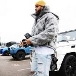 Fall 2019 Outerwear: Anthony Barr Wears A Louis Vuitton Monogram Boyhood Puffer Jacket