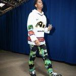 Shai Gilgeous-Alexander Looks Drippy In A Nike x Cactus Plant Flea Market Mo Hockey Jersey & Meet The Guys Denim Jeans
