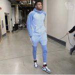 The Sweatsuit KING: Giannis Antetokounmpo Wears Various Nike Looks