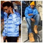 A-Boogie Wit Da Hoodie And DJ Boof Spotted In A Dior Oblique Printed Down Puffer Jacket