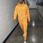 Comfy Fit: Ja Morant Spotted In Various Nike Sweatsuits