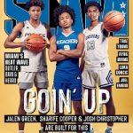 Sharife Cooper, Jalen Green And Josh Christopher Cover SLAM 225