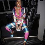 Love & Hip Hop: Ju Ju Wears A Versace Barocco Printed Silk Shirt & Leggings