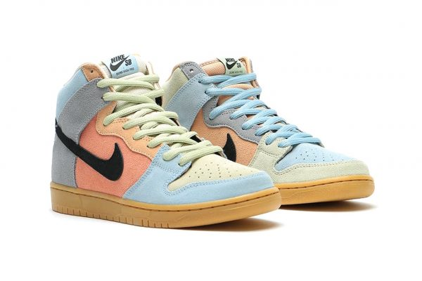"apodo gusto Rebaja  Sneaker News: The Nike SB Dunk High Pro ""Easter Spectrum"" Drops This Spring  2020 – Donovan Moore Fashion Book"