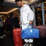 NBA Fashion: Shai Gilgeous-Alexander Draped In A Prada Technical Nylon Jacket And Trousers