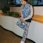 Justin Combs Wears A Full Pyer Moss Spring 2020 Runway Look